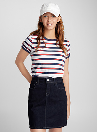 Rita denim skirt
