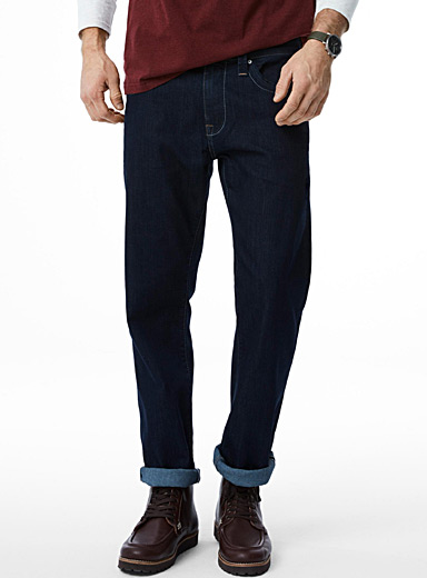 Dark indigo Zach jean  Straight fit