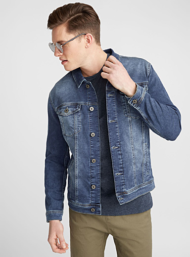 Terry lined jean jacket