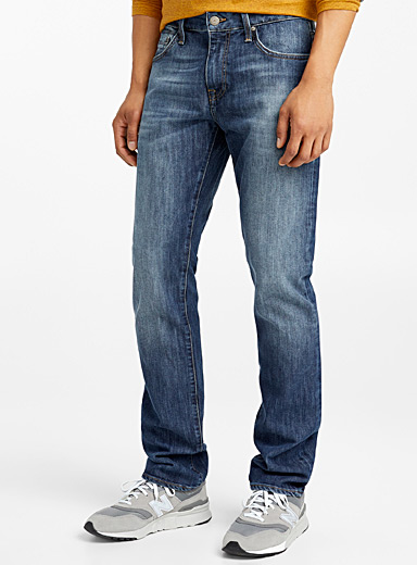 Zach faded blue jean  Straight fit