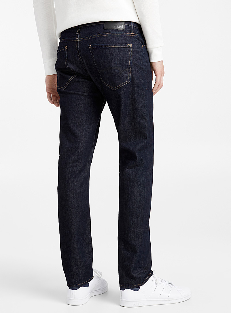 Dark blue Marcus jean  Straight fit - Straight fit - Marine Blue