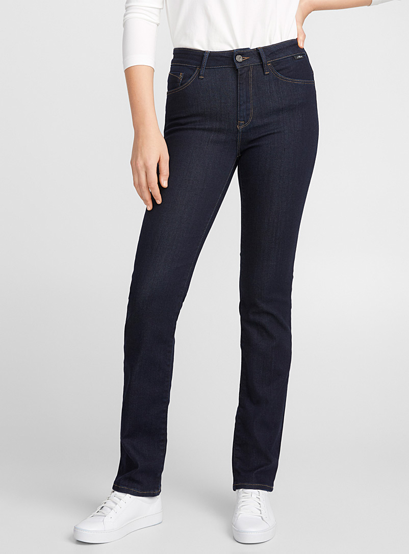 Kendra straight high-rise jean