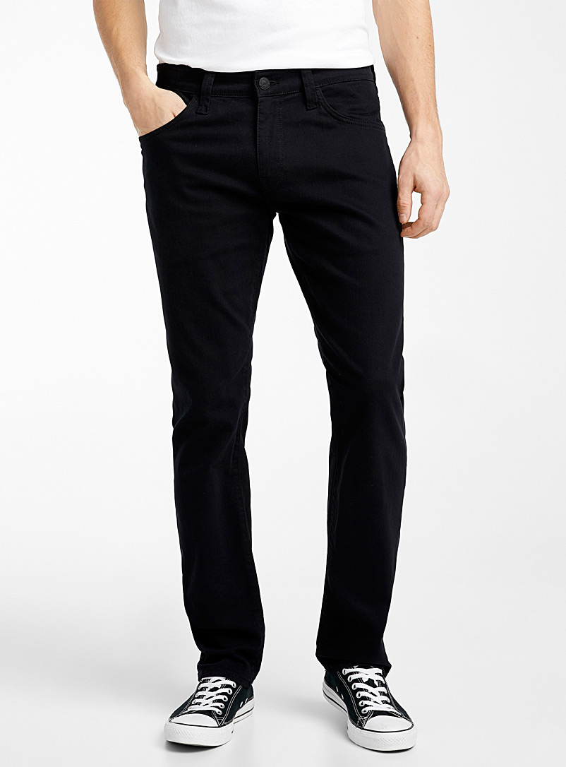 Marcus jet black jean  Straight fit - Straight fit - Black