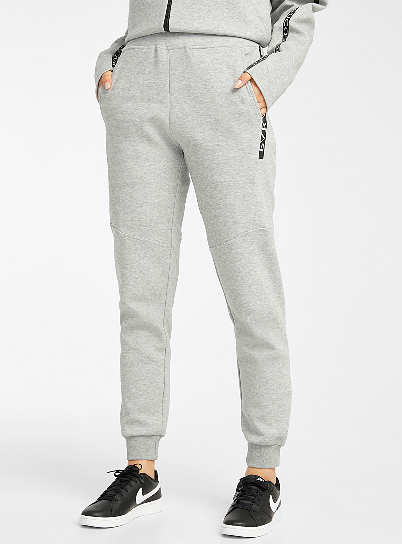 Parasuco Grey Signature pocket joggers for women
