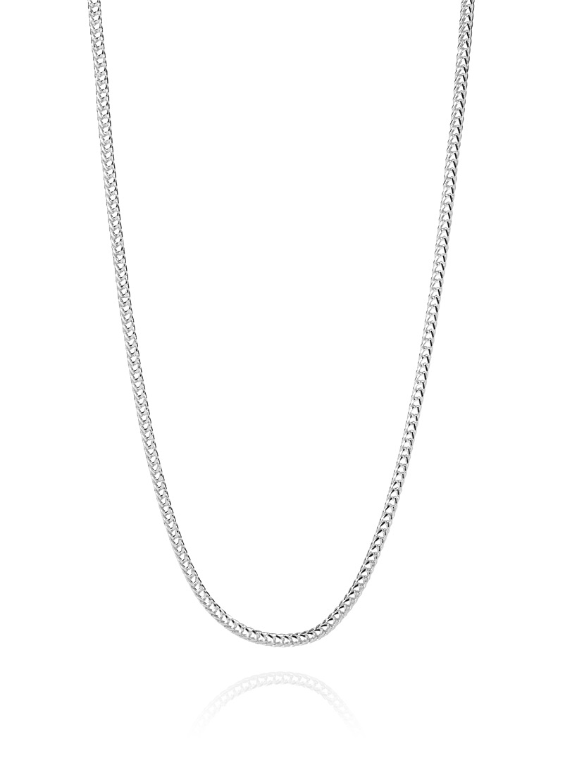 Le 31 Silver Ultra light chain necklace for men