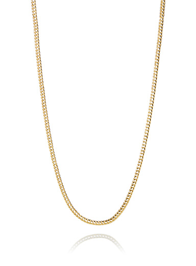 Ultra light chain necklace