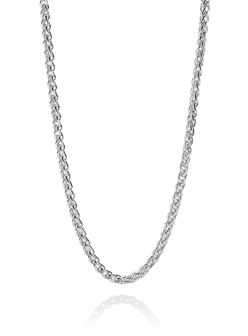 Round chain necklace