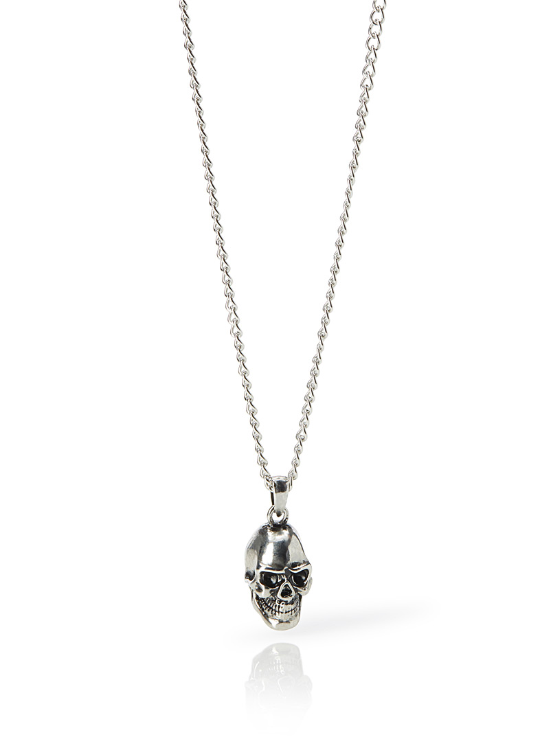 Skull pendant necklace - Necklaces - Silver