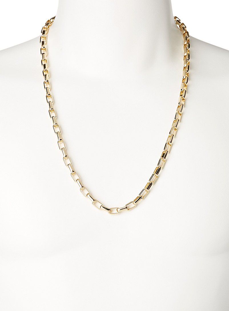 Le 31 Assorted Rectangular-link chain for men