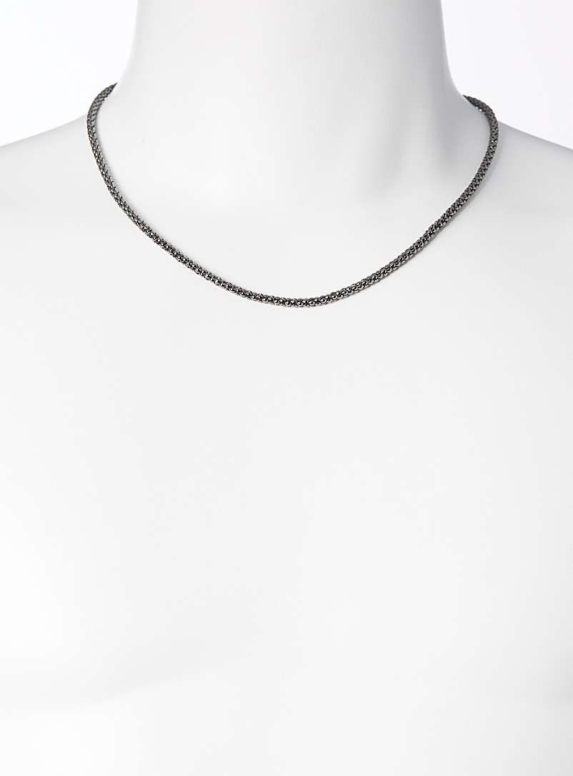 Le 31 Assorted Round metallic chain for men