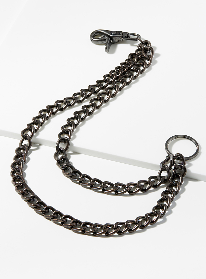 Double wallet chain