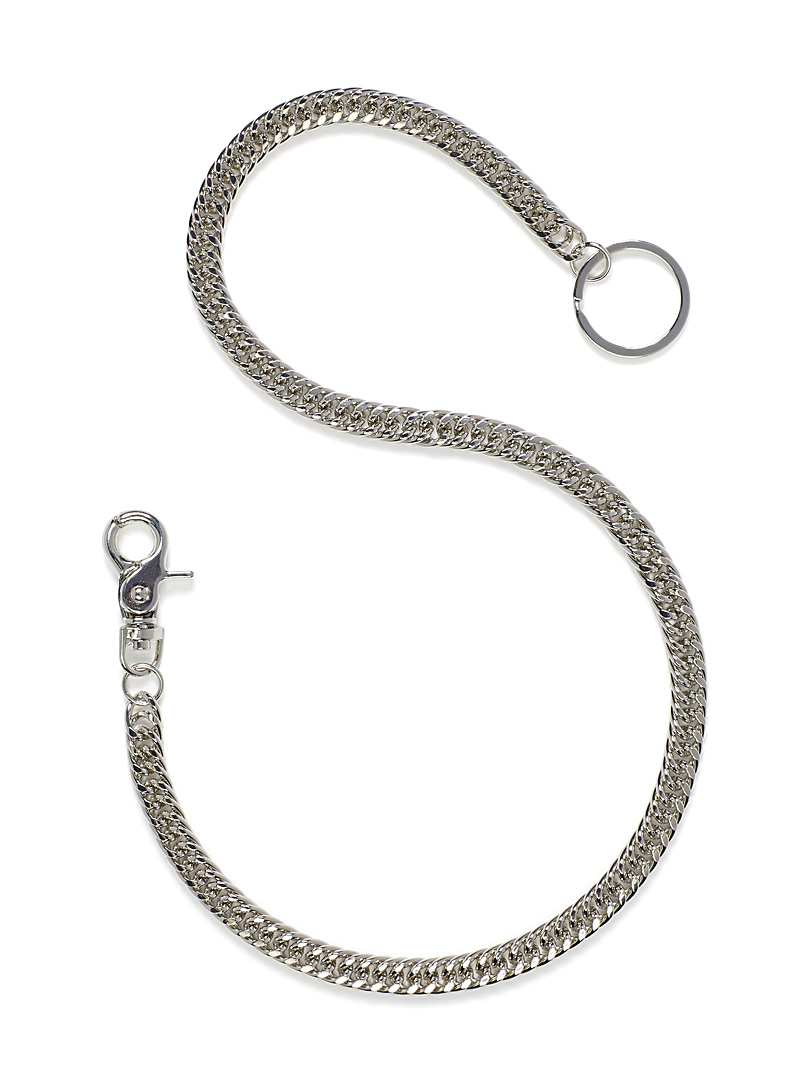 Curb-link wallet chain - Useful Extras - Silver