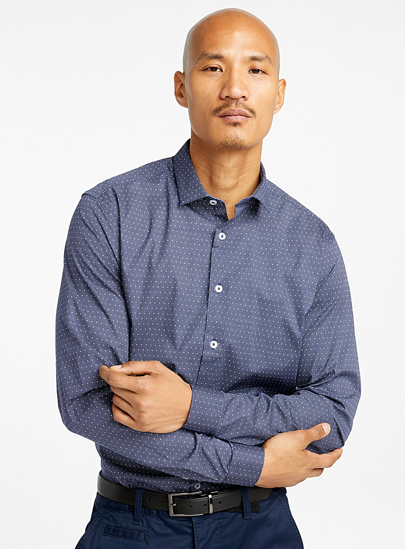 mixed-dot-shirt-br-semi-tailored-fit
