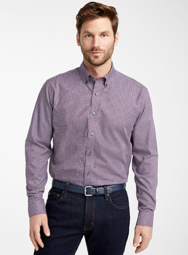 Modern geometry shirt  Comfort fit