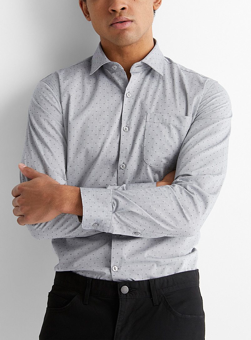 Small pattern forest shirt  Modern fit