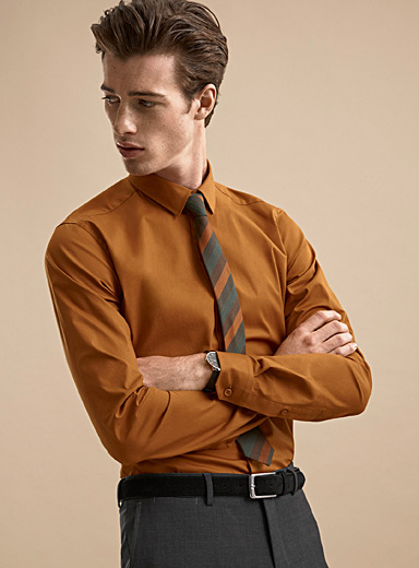 Minimalist stretch shirt  Slim fit