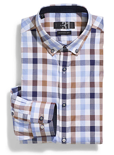 Checkered shirt  Semi-tailored fit