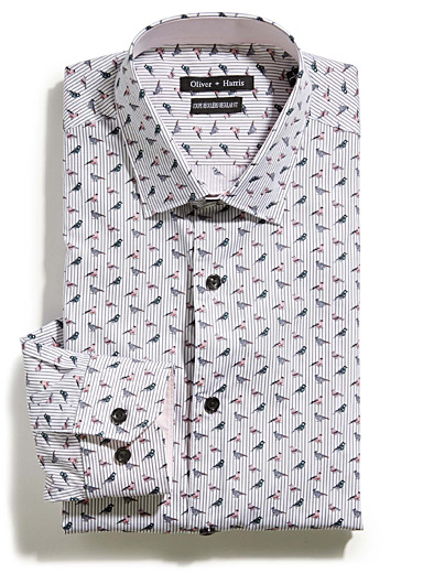 Graphic chickadee shirt <br>Regular fit