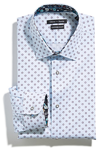 Geo daisy shirt  Regular fit