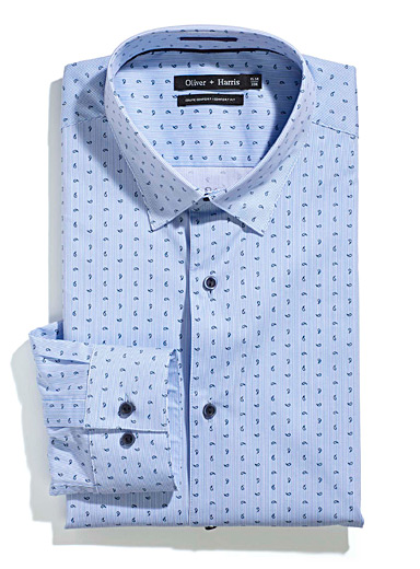 Le chemise rayures paisley  Coupe confort