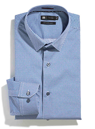 Outlined disc shirt  Tailored fit
