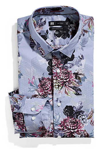 Graphic floral shirt <br>Slim fit