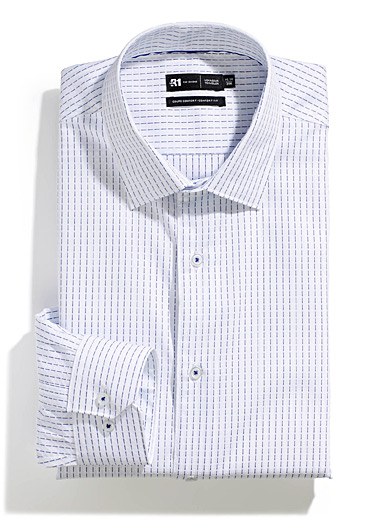 Dotwork stripe shirt  Comfort fit