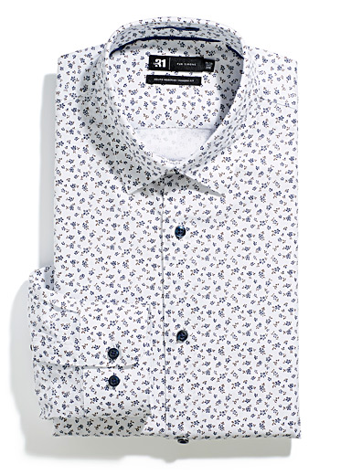 Minimalist flower shirt Modern fit