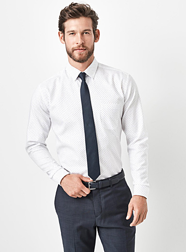Optical dot shirt  Semi-tailored fit