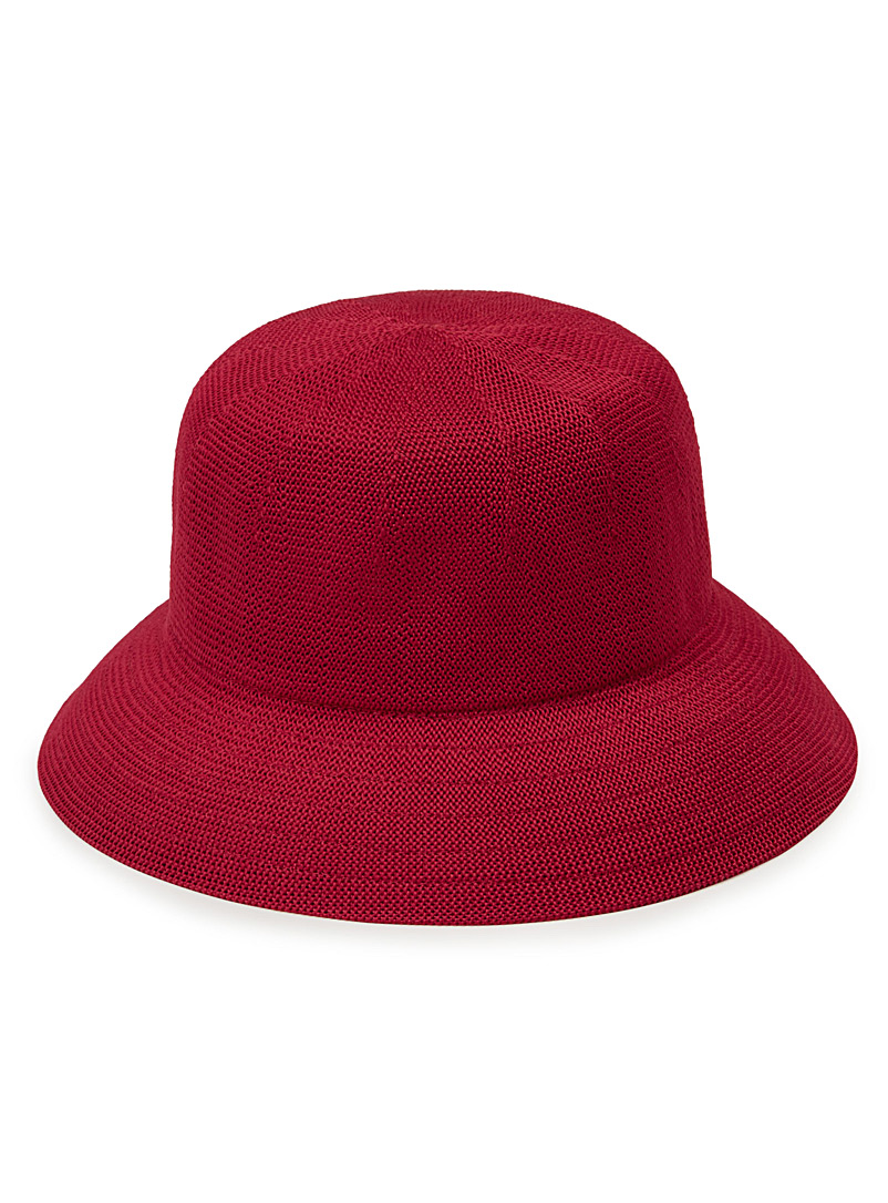 Monochrome cloche - Hats - Red