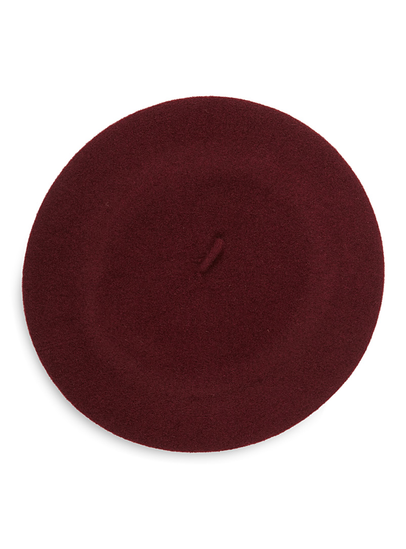 Classic beret - Tuques & Berets - Cherry Red
