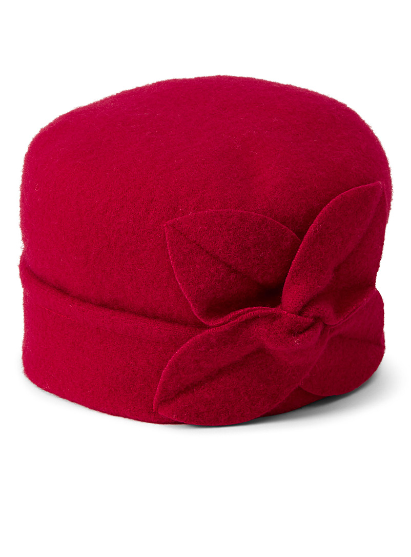Vintage-inspired cloche hat - Tuques & Berets - Red