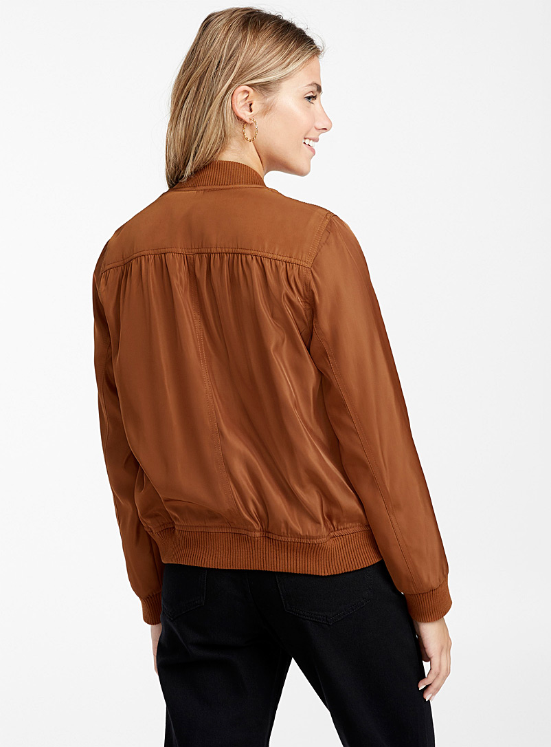 Shiny bomber jacket - Bomber Jackets - Toast