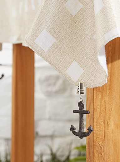 Nautical anchor tablecloth weights  Set of 4