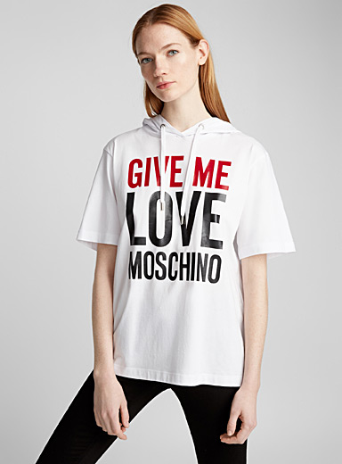 Give Me Love hooded T-shirt