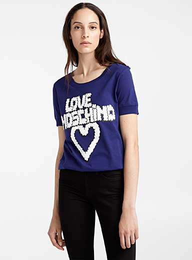 Le t-shirt Love Moschino