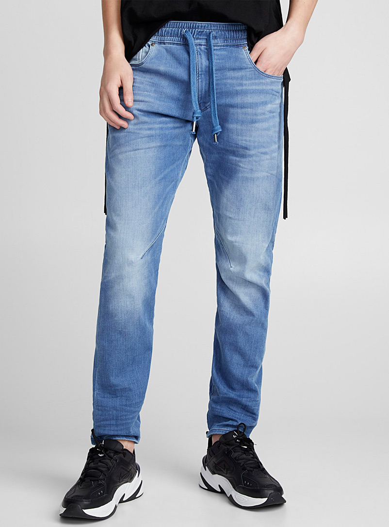 Faded jogg-jean   - Joggers - Baby Blue