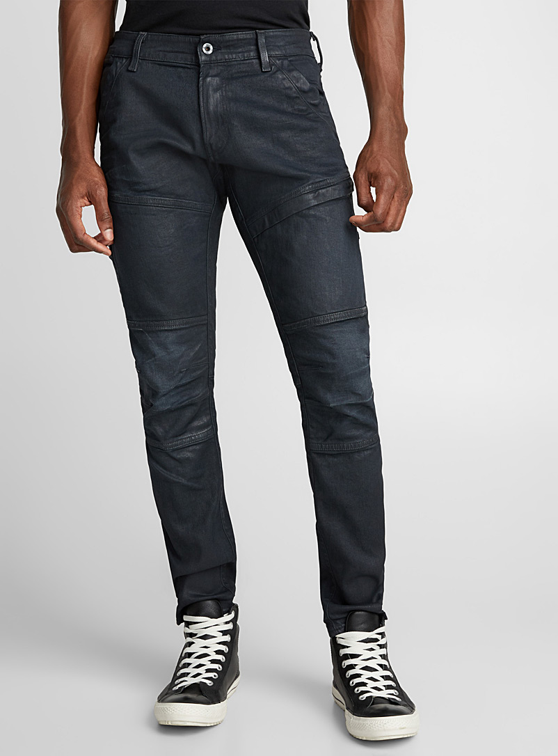 Rackam coated jean  Skinny fit - Premium Denim - Marine Blue