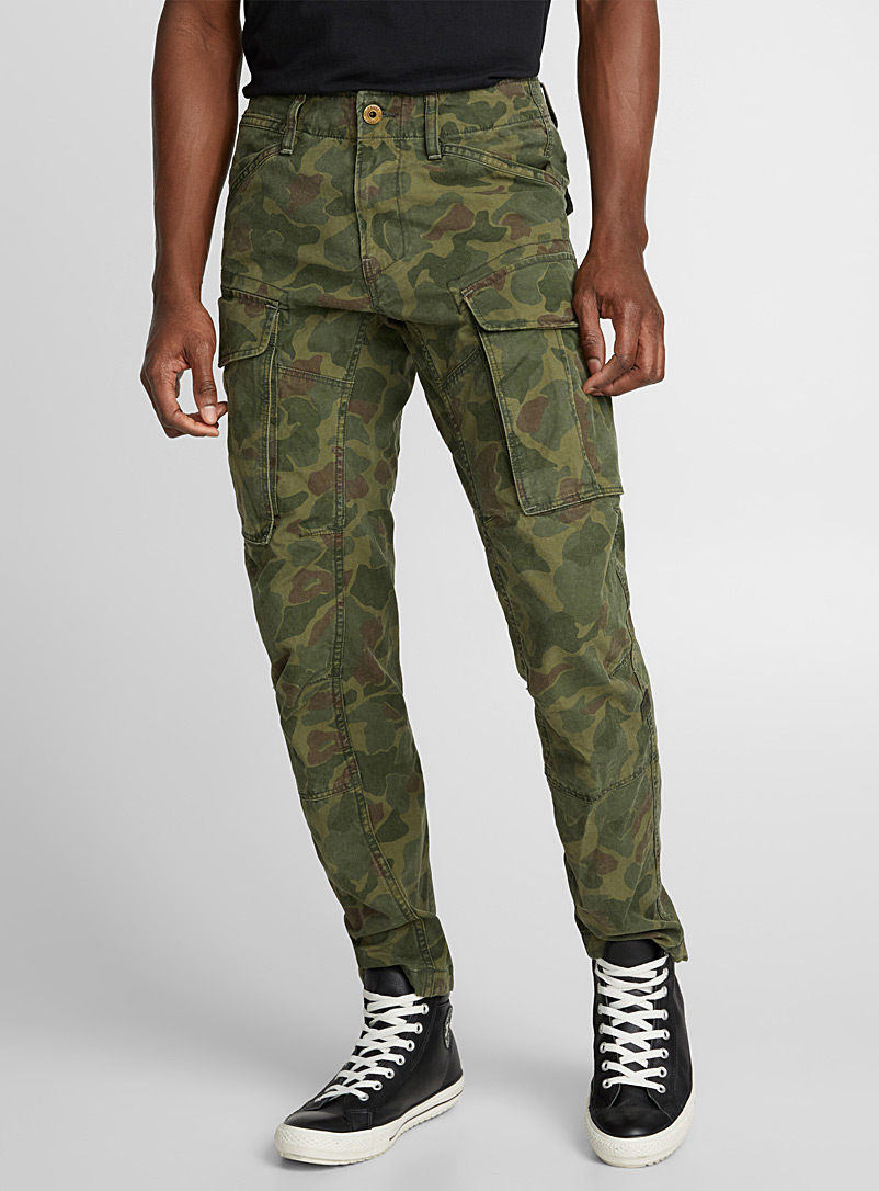Rovic 3D camo pant  Skinny fit - Super skinny & Skinny fit - Patterned Green