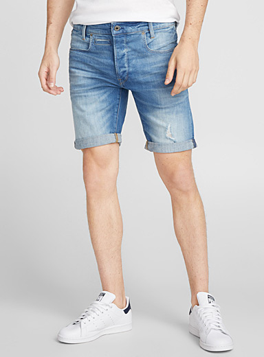 Le short denim D-Staq