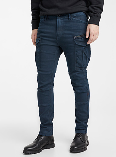 Navy Rovic 3D cargo pant <br>Skinny fit