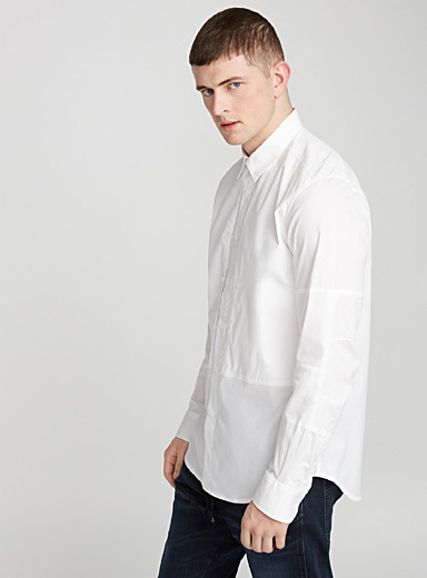 Articulated shirt  Semi-tailored fit