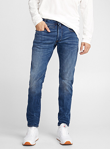 Faded indigo D-Staq jean <br>Slim fit