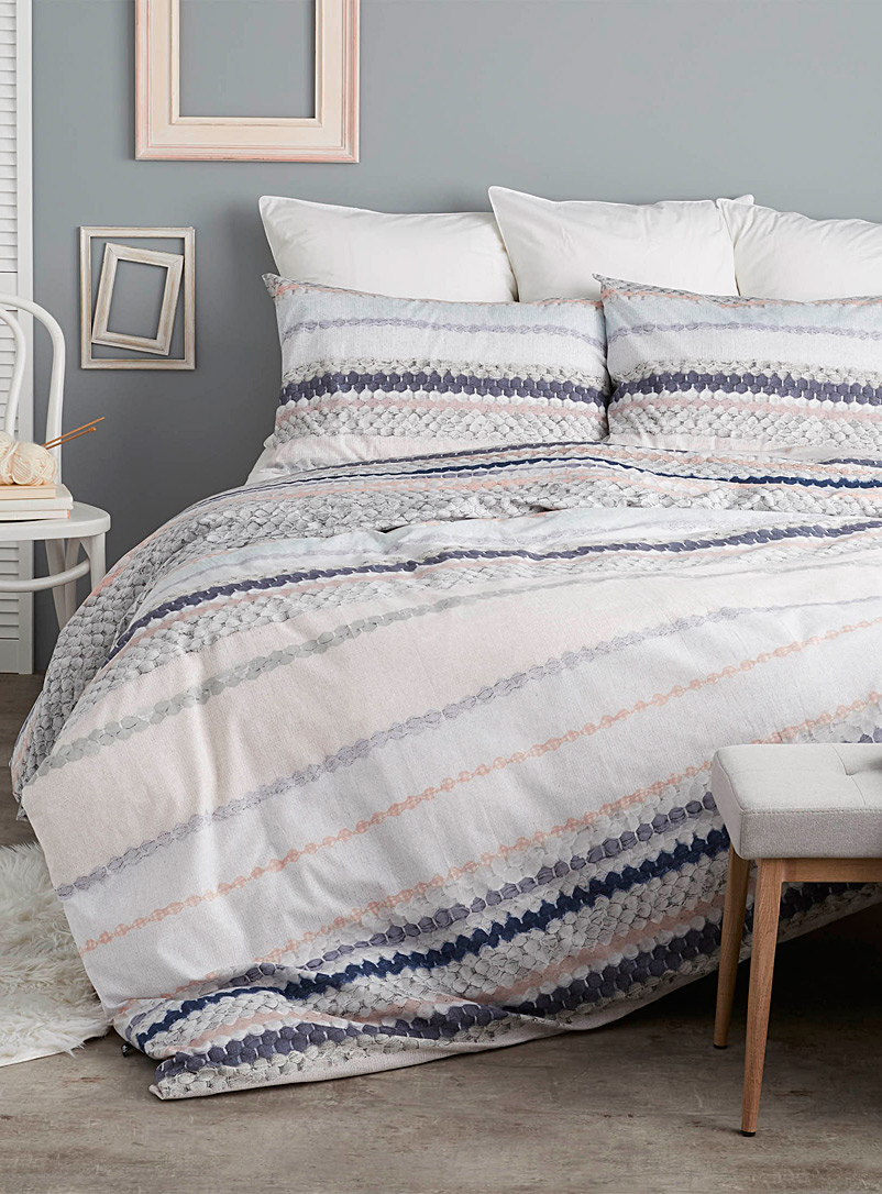 Artisanal stripe duvet cover set - Duvet Covers - Assorted