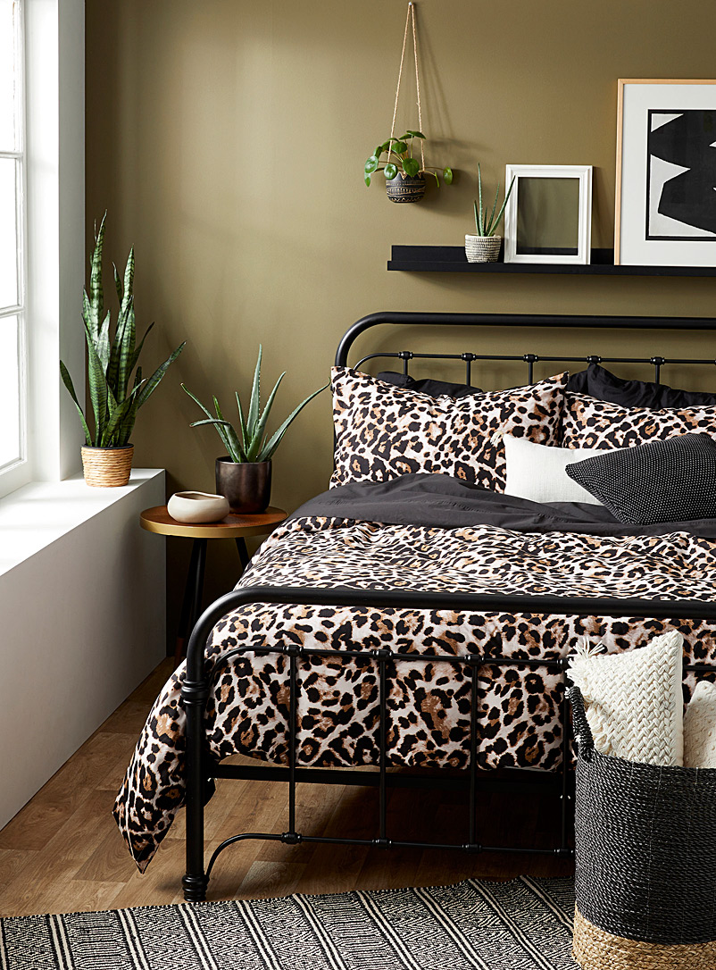 Brunelli Assorted Leopard print duvet cover set