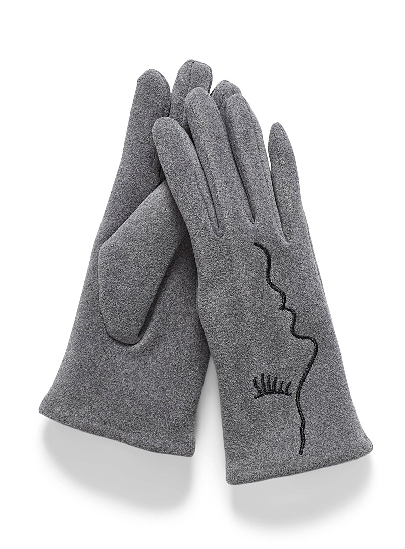 Face profile gloves
