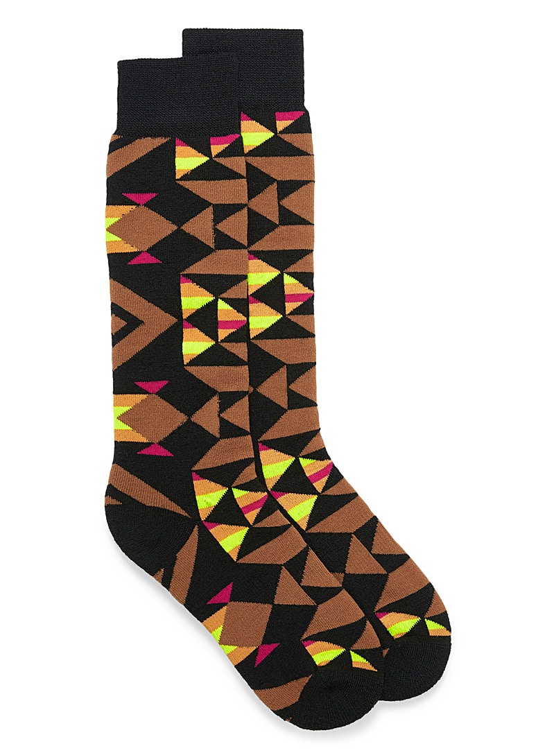 Le bas thermal figures triangulaires - Chaussettes