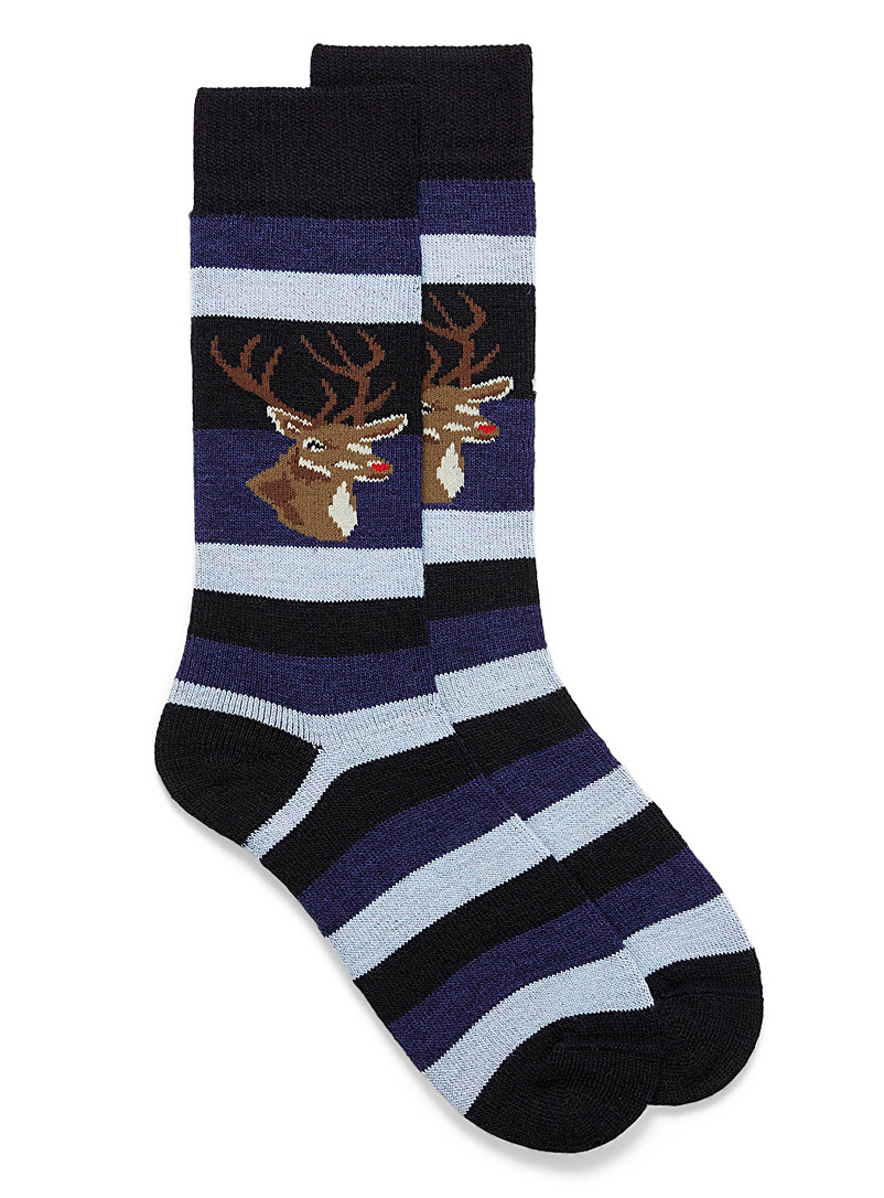 rudolph-striped-thermal-socks
