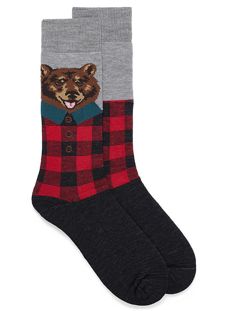 winter-figure-thermal-socks