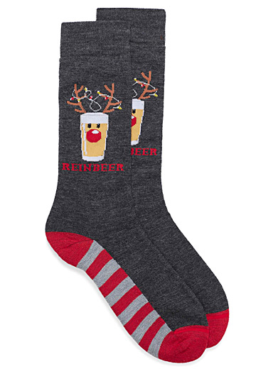 Malty antlers thermal socks